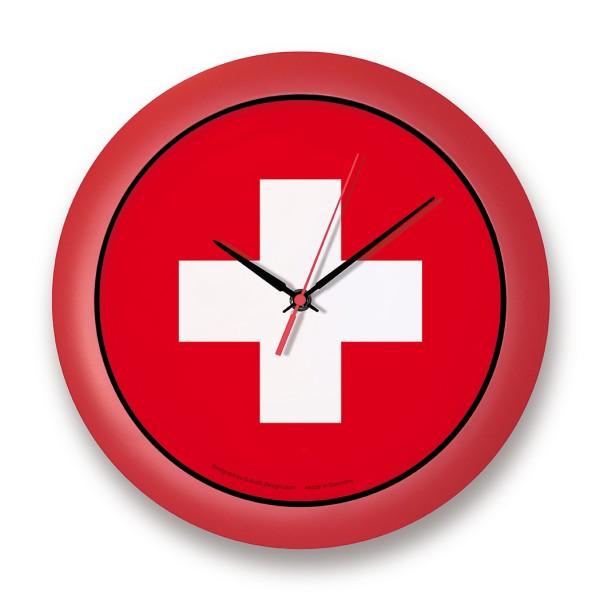 """Länder-Wanduhr """"Schweiz"""""""