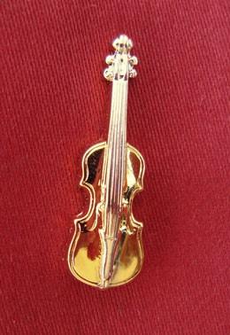 """""""Geige"""" als Pin"""