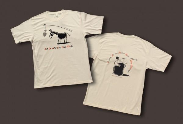 """T-Shirt für Herren """"Esel und Diva"""""""