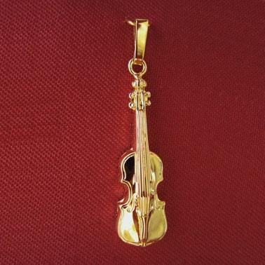 """""""Geige"""" als Anhänger"""