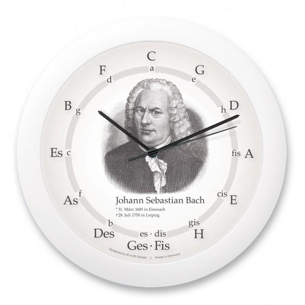 """Quintenzirkeluhr """"Johann Sebastian Bach"""""""
