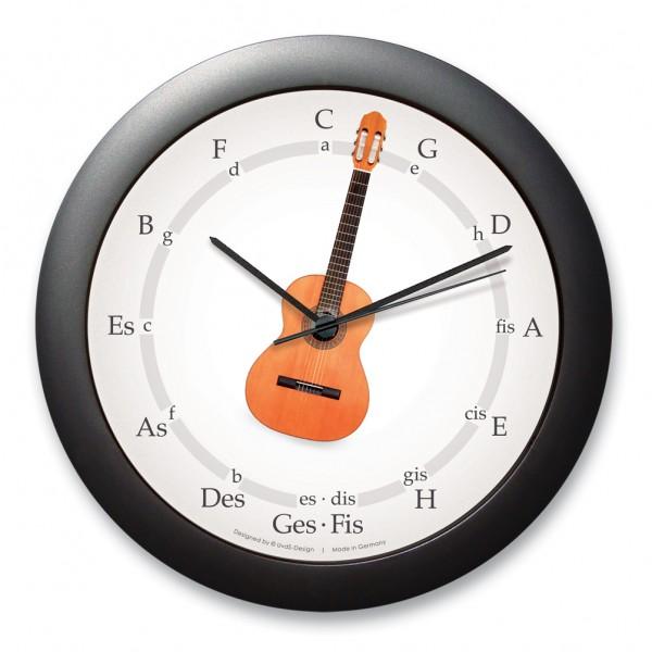 """Quintenzirkeluhr """"Gitarre"""""""
