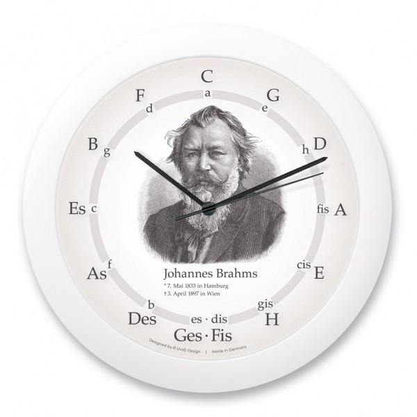 "Quintenzirkeluhr ""Johannes Brahms"""