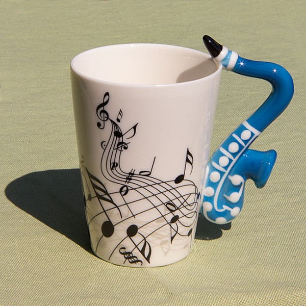 "Tasse ""Saxophon"""