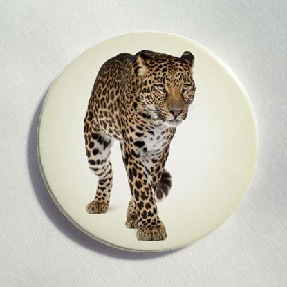 """Button """"Leopard"""""""