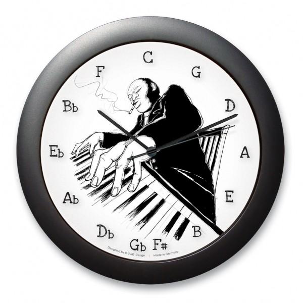 """Quintenzirkeluhr """"Pianoman"""""""