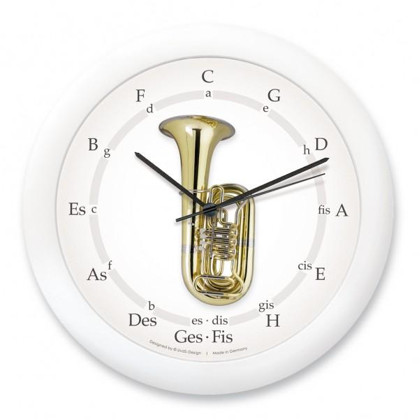 """Quintenzirkeluhr """"kleine Tuba"""""""