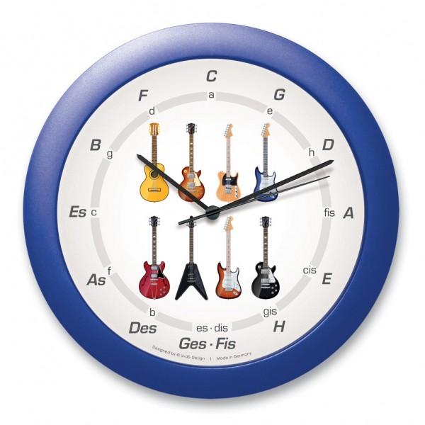 """Quintenzirkeluhr """"8 Gitarren"""""""