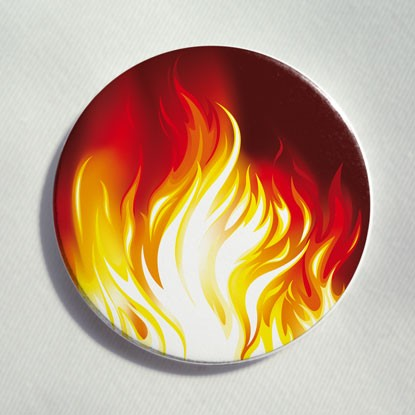 """Button """"Feuer"""""""