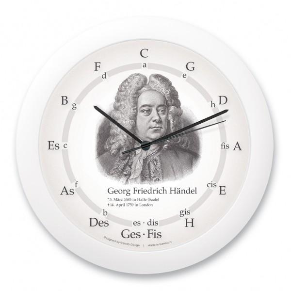 """Quintenzirkeluhr """"Georg Friedrich Händel"""""""