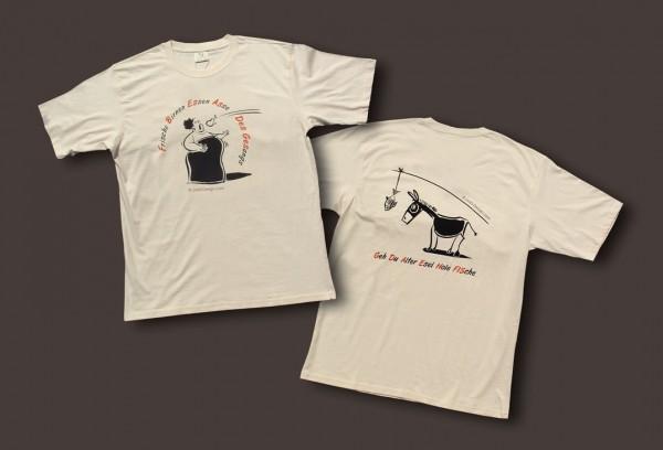"""T-Shirt für Herren """"Diva und Esel"""""""