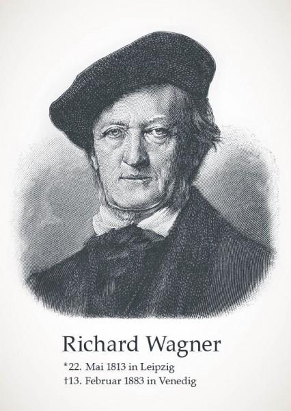 "Postkarte ""Richard Wagner"""