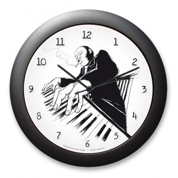 "Wanduhr ""Pianoman"""