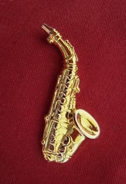 """""""Alt-Saxophon"""" als Pin"""