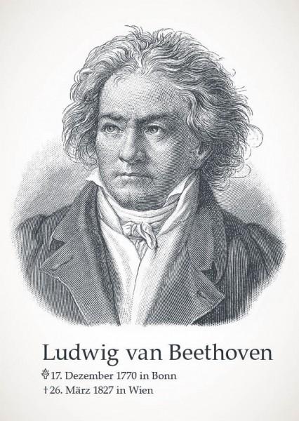 """Postkarte """"Ludwig van Beethoven"""""""