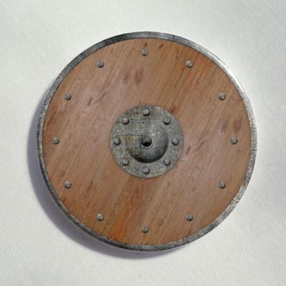 """Button """"Ritterschild"""""""