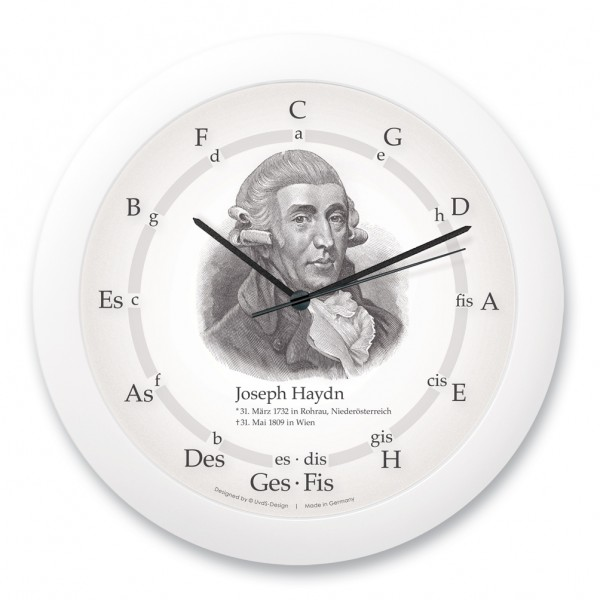 "Quintenzirkeluhr ""Joseph Haydn"""