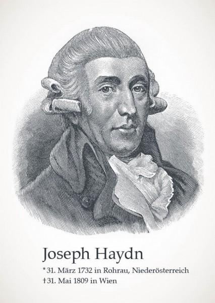 """Postkarte """"Joseph Haydn"""""""